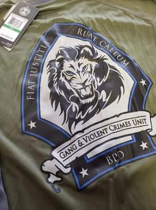 Shirts for Burlington Police