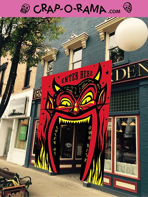 13' Devil Head Doorway Version