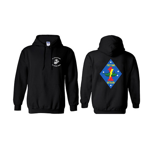 1ST Tank Battalion Pullover Hoodie