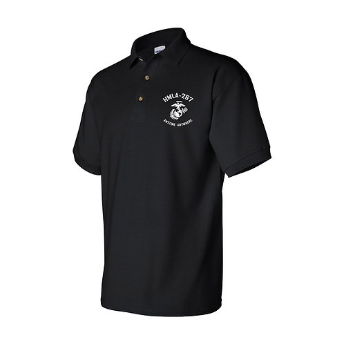 HMLA-267 Embroidered Polo Shirt