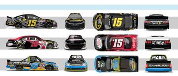 NASCAR Promo Wraps
