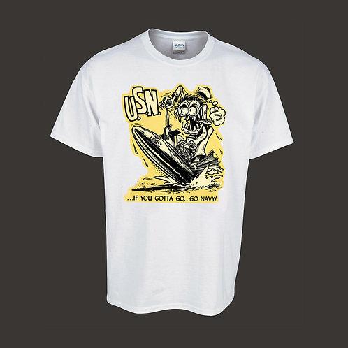 Vintage Navy Hot Rodder Shirt