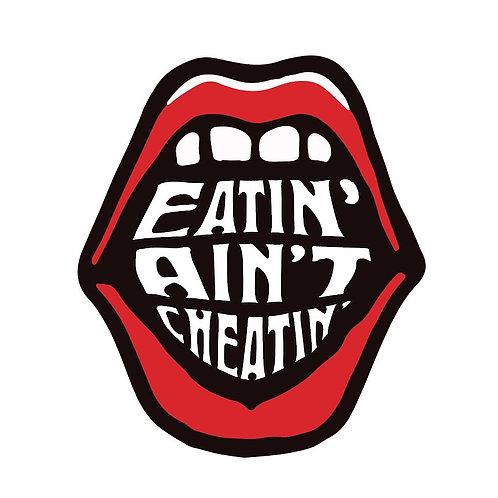 Eatin' Ain't Cheatin' Ringer T-Shirt