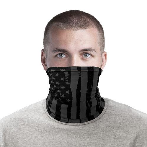 B&W American Flag Neck Gaiter