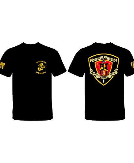 3/3 Banner Logo T-Shirt