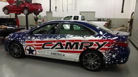 Toyota Camry Promo Car