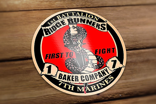 Baker Co. Decals
