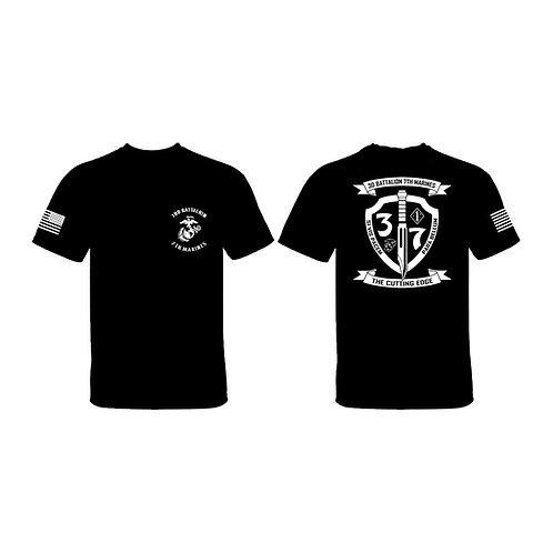 3/7 White Shield T-Shirt