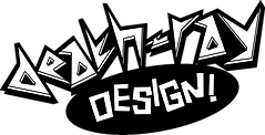 Death-Ray Design Logo BW.png