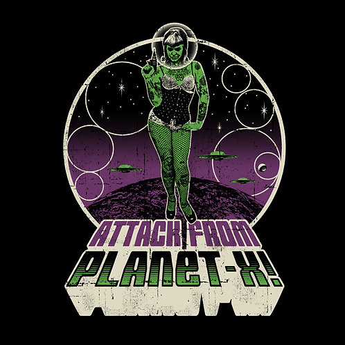 Attack from Planet-X T-Shirt