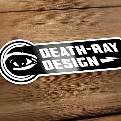 Death-Ray Sticker 2-Pack