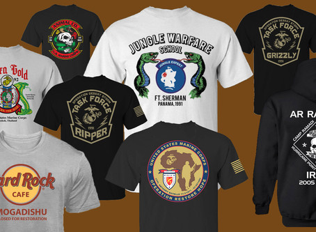 Custom T-Shirts for America's Front Line