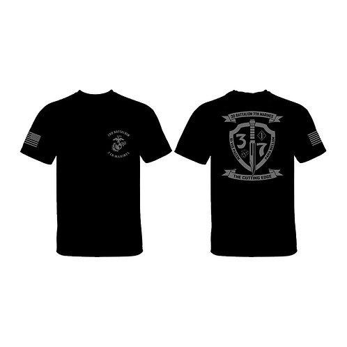 3/7 Gray Shield T-Shirt