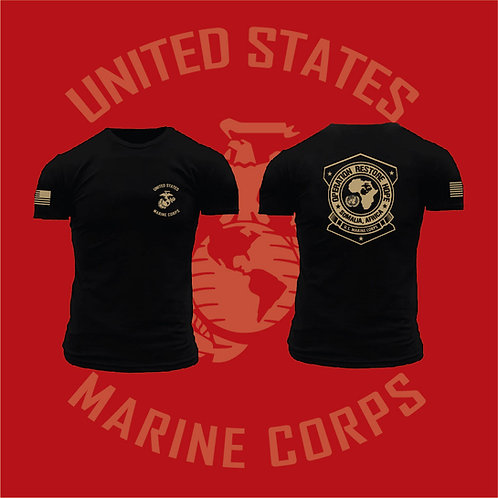 Marine Corps Version - Operation Restore Hope Short Sleeve T-Shirt