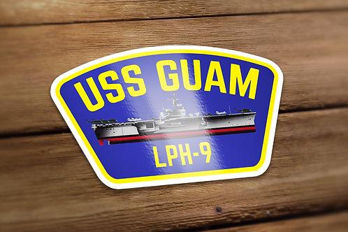 USS Guam Decal
