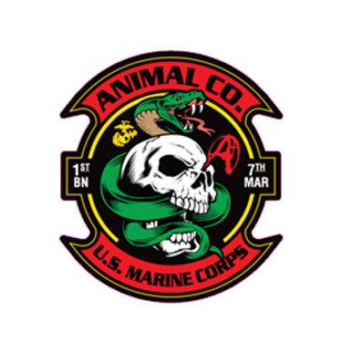 Color Animal Decal
