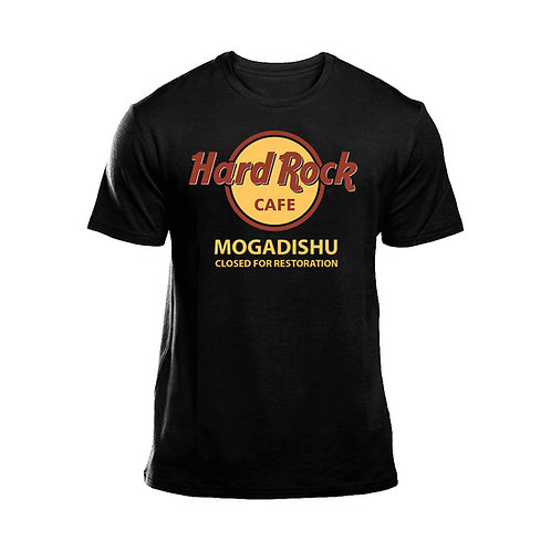 Hard Rock Cafe Mogadishu Short Sleeve T