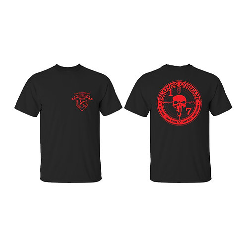 Weapons Company Red Ink T-Shirt