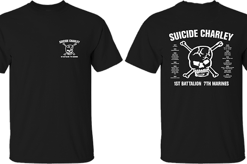 Old Style Black Suicide T-Shirt