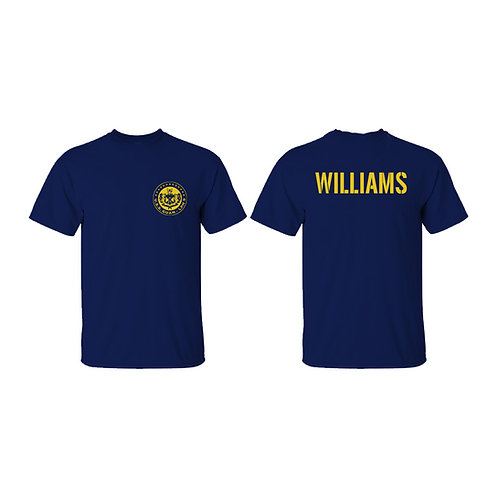 USS Guam Custom Back T-Shirt