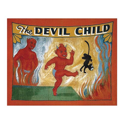 The Devil Child Sideshow Banner