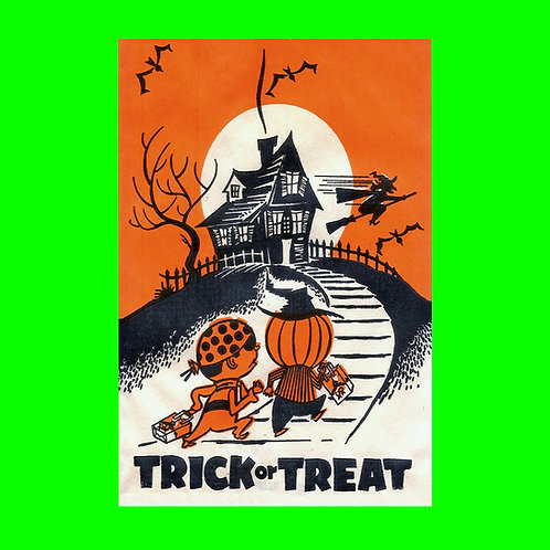 Halloween Banner - Trick or Treat House