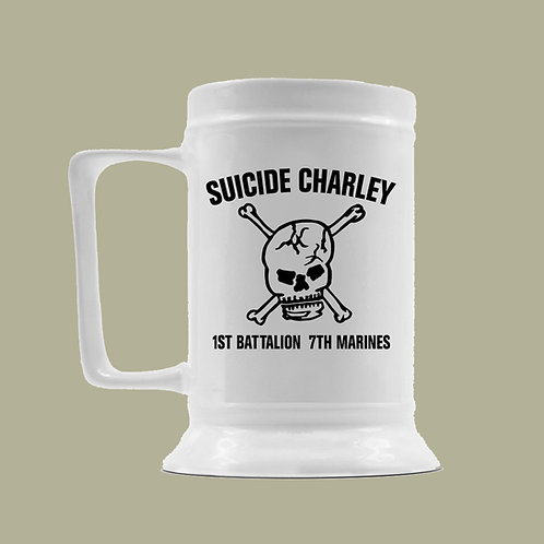 Suicide Charley 16oz Beer Stein