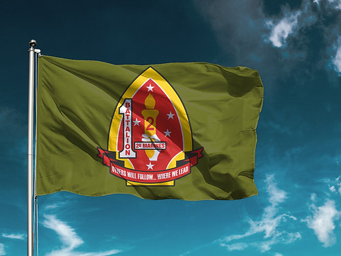 1/2 Flag - Olive Drab
