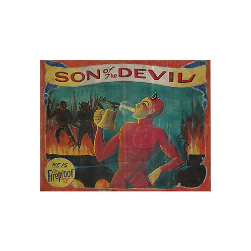 Son of the Devil Sideshow Banner