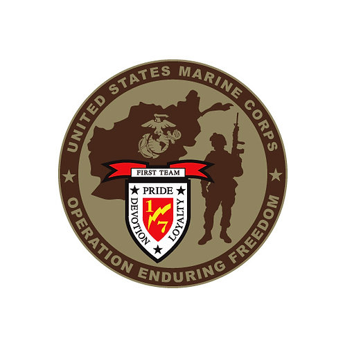 Operation Enduring Freedom Decal