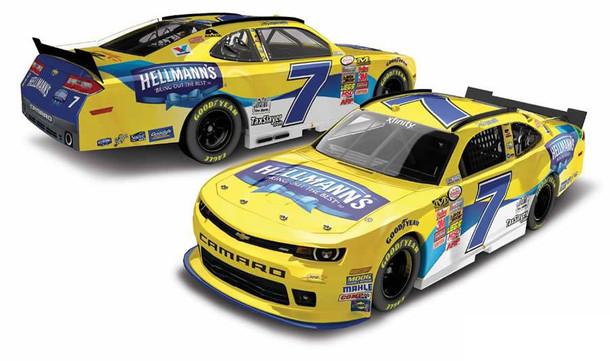 #7 NASCAR Wrap for Hellmann's