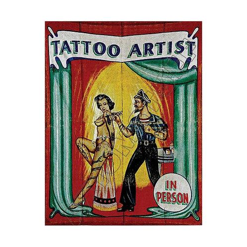 Tattoo Artist Sideshow Banner