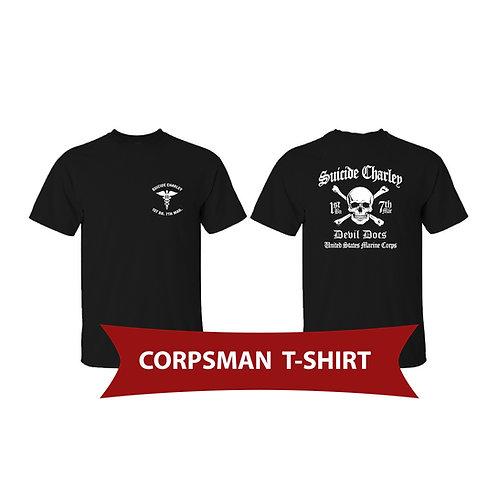 Corpsman Black Short Sleeve Shirt