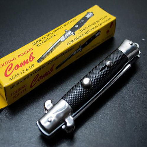 Switchblade Pocket Comb