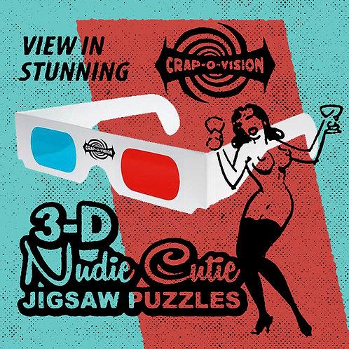 Nudie Cutie 3-D Jigsaw Puzzle
