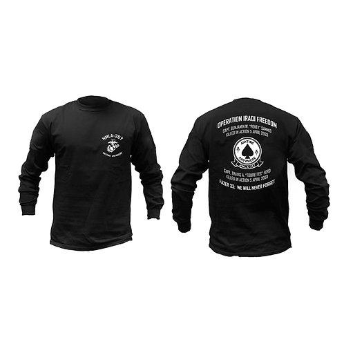 Memorial HMLA-267 Long Sleeve - Black