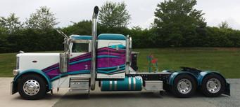 Transfer Truck Stripes