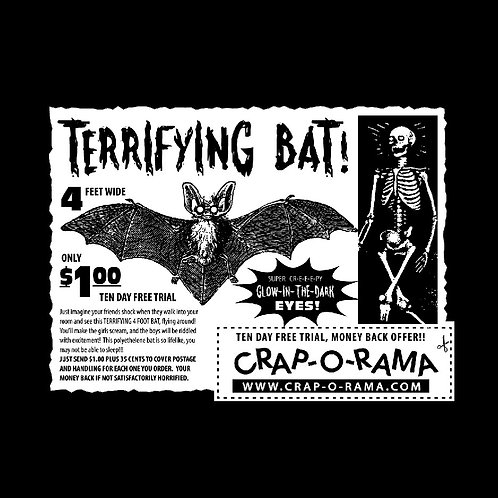 Terrifying Bat Promo T-Shirt