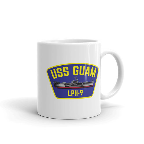 Double Sided USS Guam Coffee Mug