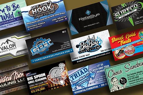 16pt. Premium Business Cards