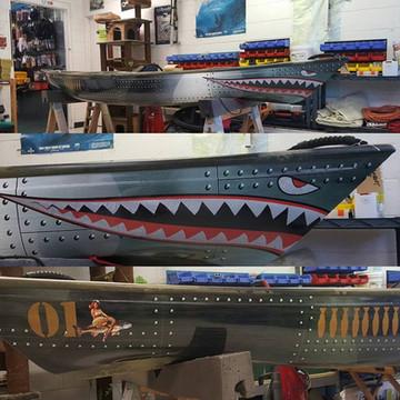 Bomber Kayak Wrap Design