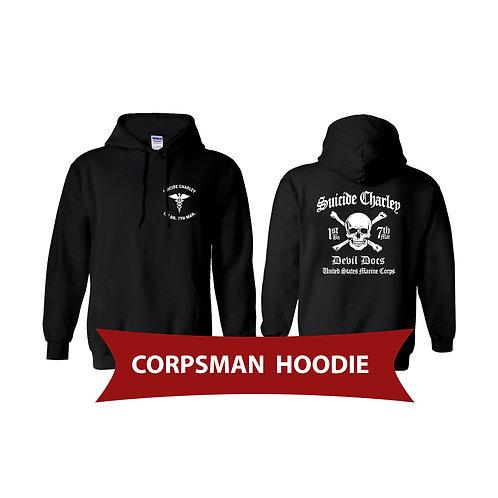 Corpsman Black Pullover Hoodie