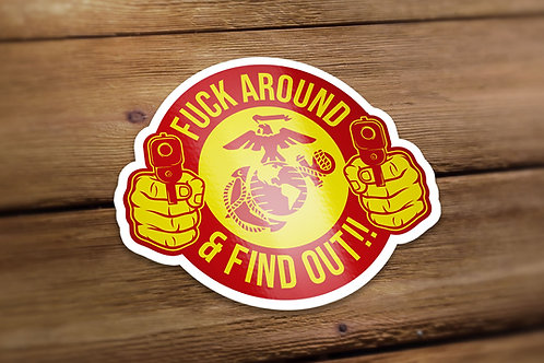 Find Out Decal