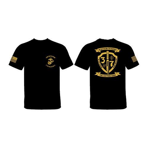 3/7 Tan Shield T-Shirt