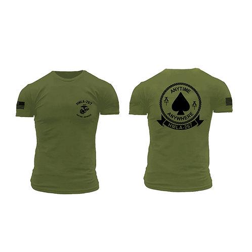Premium Brand Short Sleeve OD T-Shirt - HMLA-267