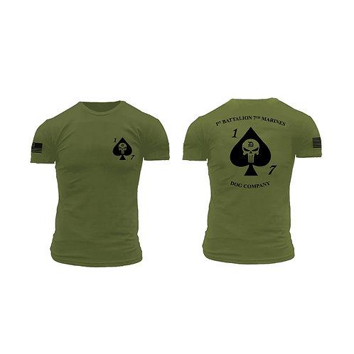 Dog Co. 1/7 Bella+Canvas Brand Short Sleeve T-Shirt