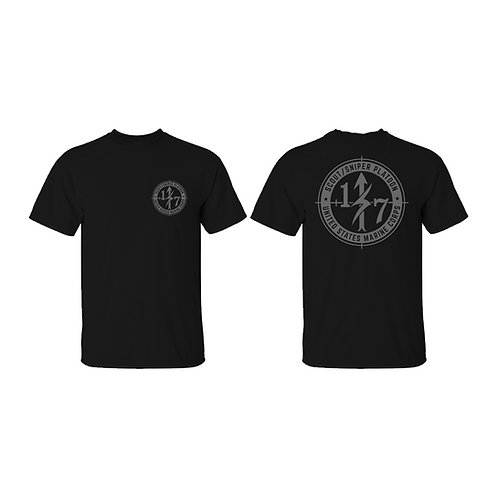 Scout Snipers Gray Ink T-Shirt