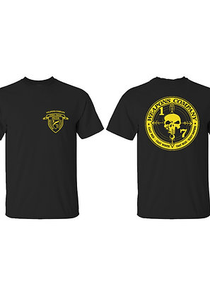 Weapons Company Gold Ink T-Shirt