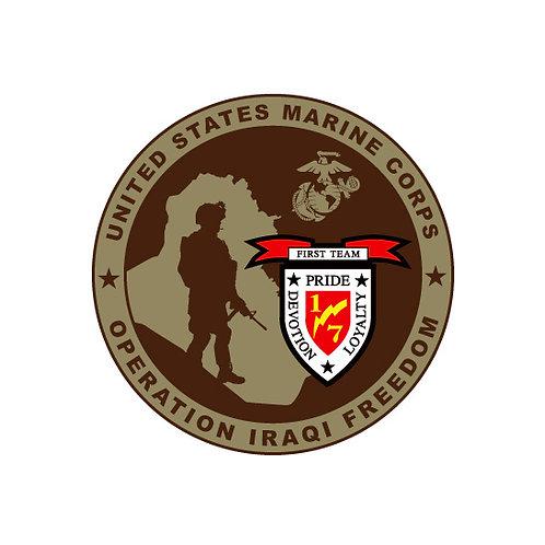 Operation Iraqi Freedom Decal