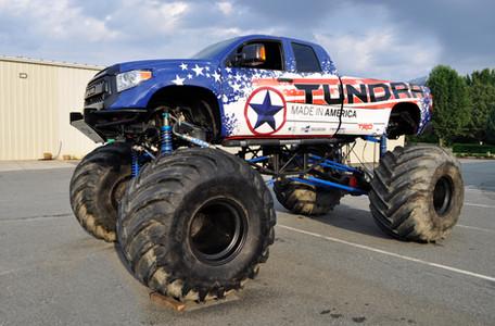 Toyota Monster Truck Wrap